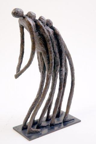 Sylvie Derely, Les hommes, Bronze